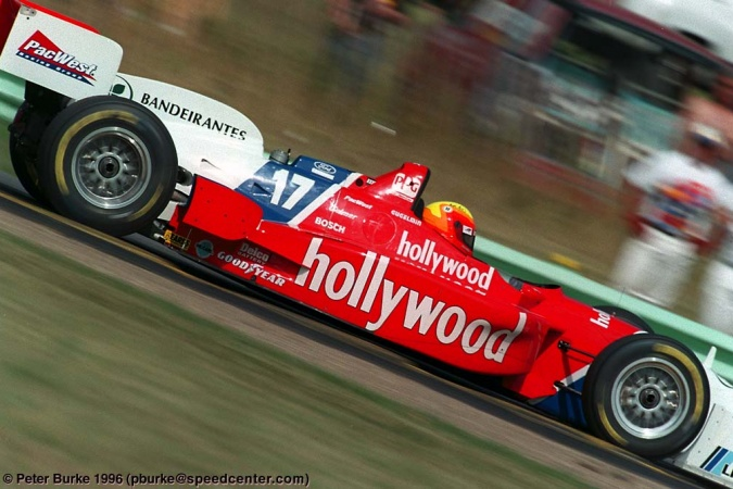 Photo: Mauricio Gugelmin - PacWest Racing - Reynard 96i - Ford
