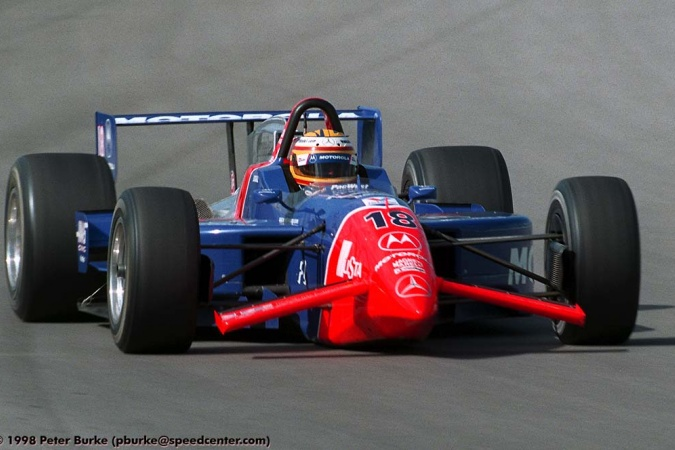 Photo: Mark Blundell - PacWest Racing - Reynard 98i - Mercedes