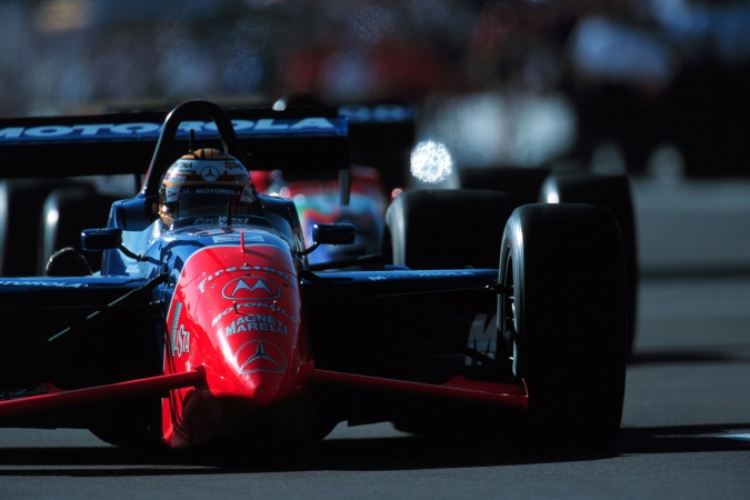 Photo: Mark Blundell - PacWest Racing - Reynard 99i - Mercedes