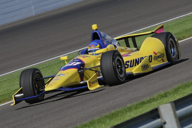 Photo: Townsend Bell - Panther Racing - Dallara DW12 - Chevrolet
