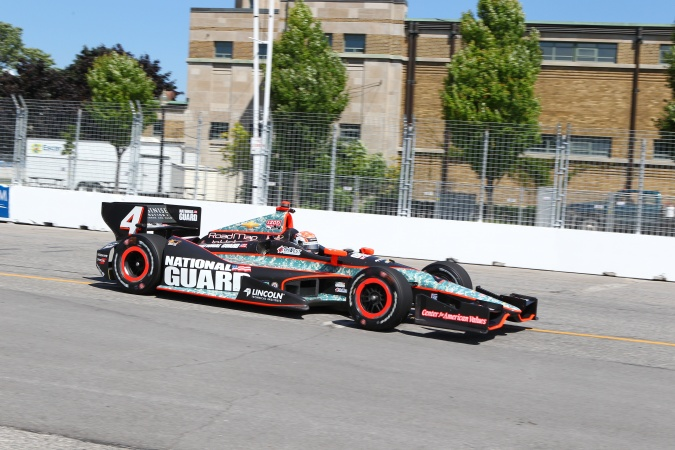 Photo: Ryan Briscoe - Panther Racing - Dallara DW12 - Chevrolet