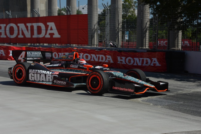 Photo: Carlos Muñoz - Panther Racing - Dallara DW12 - Chevrolet