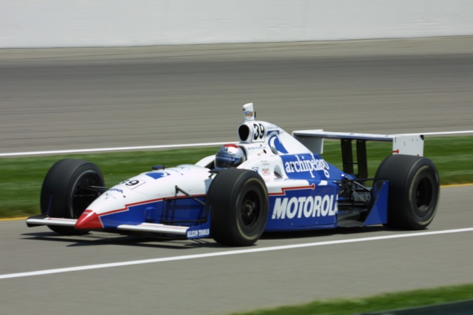 Photo: Michael Andretti - Panther Racing - Dallara IR-01 - Oldsmobile