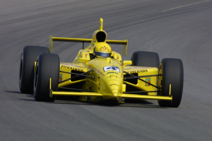 Photo: Sam Hornish - Panther Racing - Dallara IR-01 - Oldsmobile