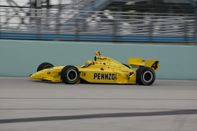 Photo: Sam Hornish - Panther Racing - Dallara IR-02 - Chevrolet