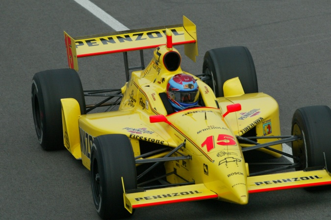 Photo: Dan Wheldon - Panther Racing - Dallara IR-02 - Chevrolet