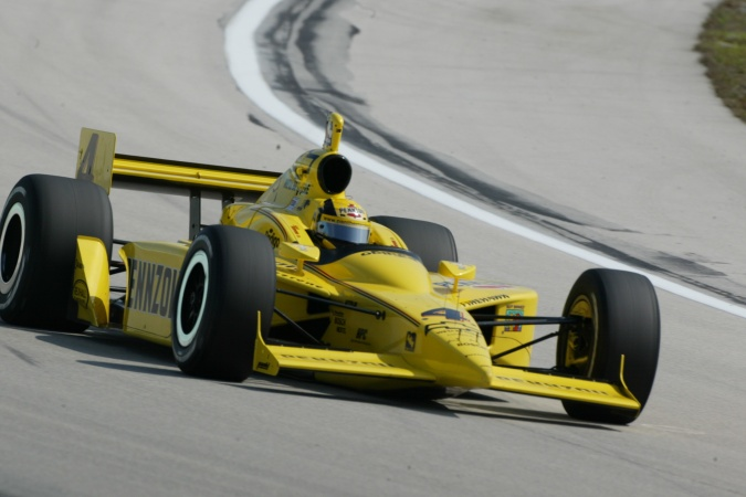 Photo: Sam Hornish - Panther Racing - Dallara IR-03 - Chevrolet