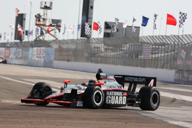 Photo: J.R. Hildebrand - Panther Racing - Dallara IR-05 - Honda