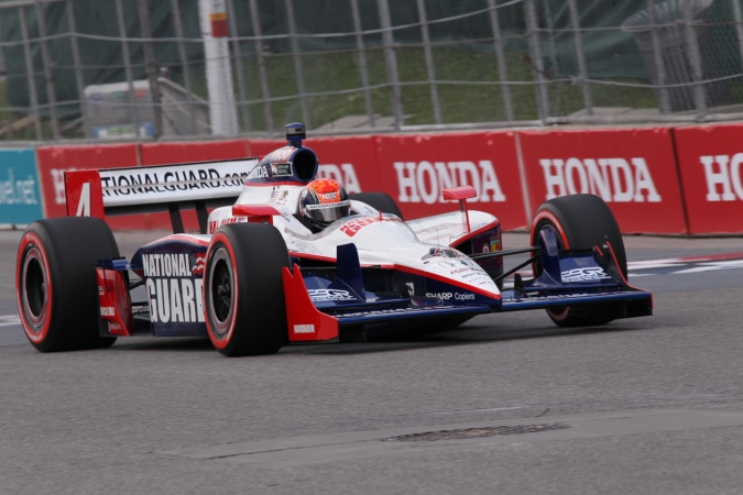 Photo: Dan Wheldon - Panther Racing - Dallara IR-05 - Honda