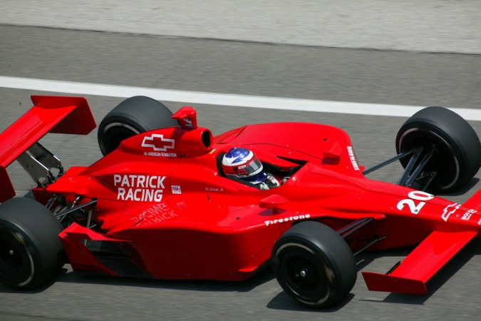 Photo: Al, jr. Unser - Patrick Racing - Dallara IR-03 - Chevrolet