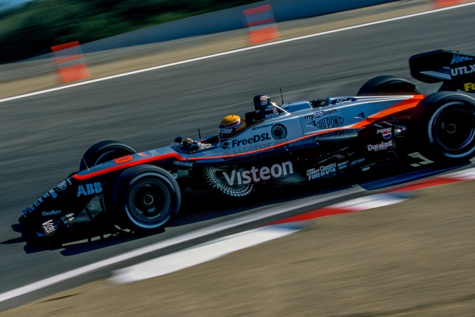 Photo: Roberto Moreno - Patrick Racing - Reynard 2Ki - Ford