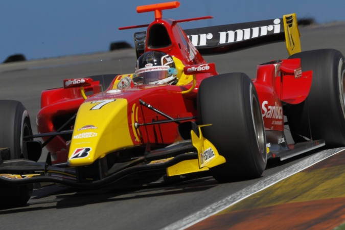 Photo: Dani Clos - Racing Engineering - Dallara GP2/08 - Renault