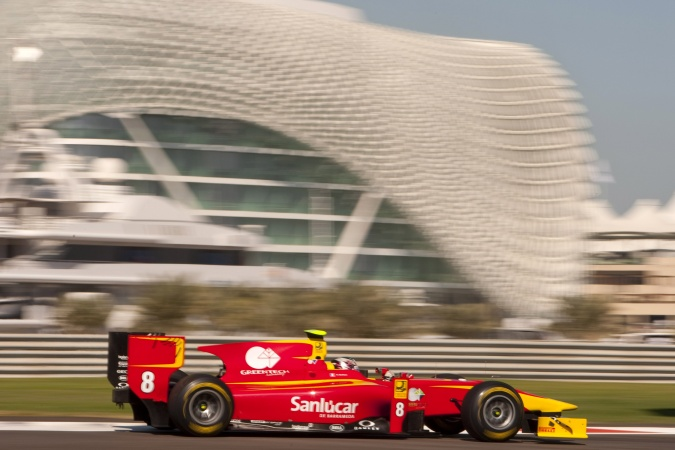 Photo: Nathanaël Berthon - Racing Engineering - Dallara GP2/11 - Mecachrome