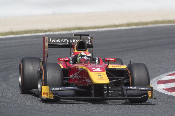 Photo: Louis Delétraz - Racing Engineering - Dallara GP2/11 - Mecachrome