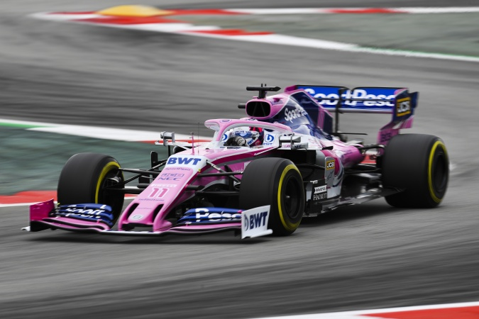 Photo: Sergio Perez Mendoza - Racing Point - Racing Point RP19 - Mercedes