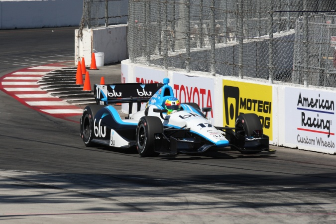 Photo: Mike Conway - Rahal Letterman Lanigan Racing - Dallara DW12 - Honda