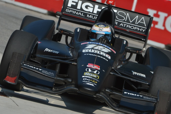 Photo: Luca Filippi - Rahal Letterman Lanigan Racing - Dallara DW12 - Honda
