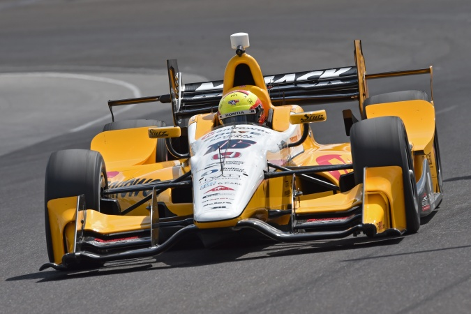 Photo: Spencer Pigot - Rahal Letterman Lanigan Racing - Dallara DW12 - Honda