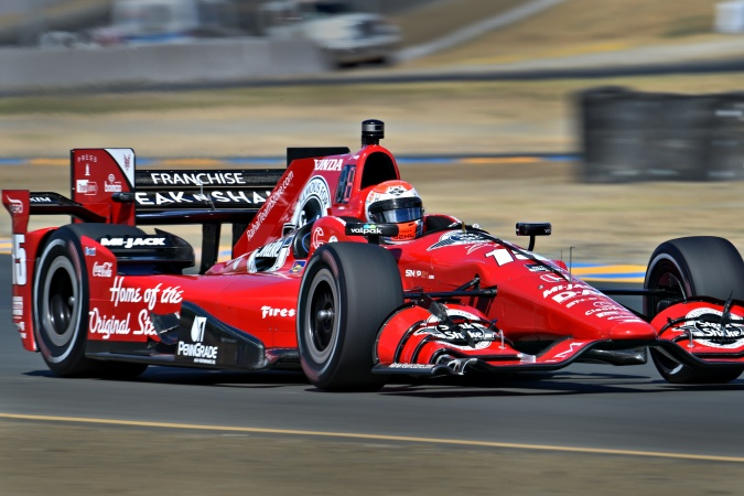 Photo: Graham Rahal - Rahal Letterman Lanigan Racing - Dallara DW12 - Honda