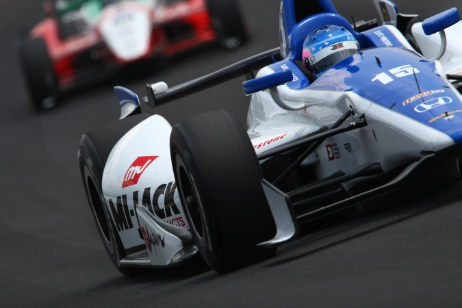 Photo: Takuma Sato - Rahal Letterman Lanigan Racing - Dallara DW12 - Honda