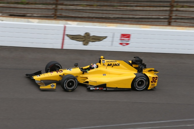 Photo: Oriol Servia - Rahal Letterman Lanigan Racing - Dallara DW12 - Honda