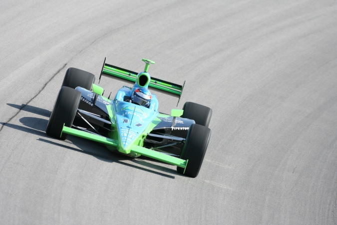 Photo: Ryan Hunter-Reay - Rahal Letterman Racing - Dallara IR-05 - Honda