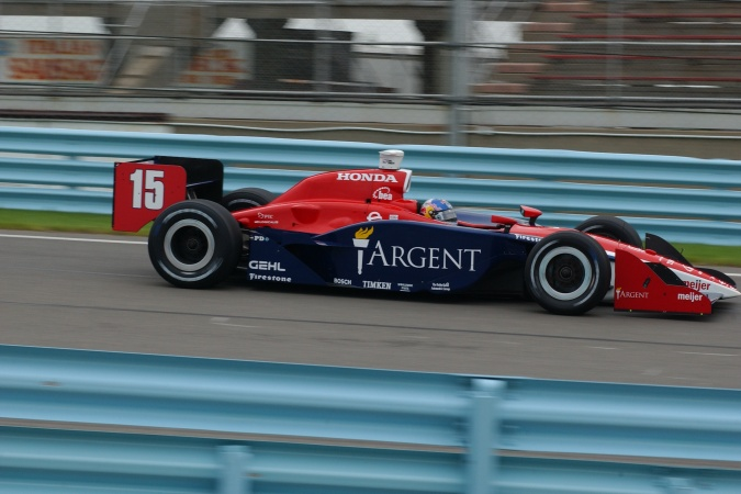 Photo: Buddy Rice - Rahal Letterman Racing - Dallara IR-05 - Honda