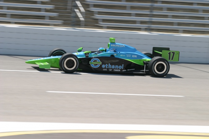 Photo: Jeff Simmons - Rahal Letterman Racing - Dallara IR-05 - Honda