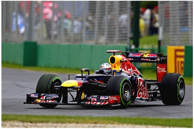 Photo: Sebastian Vettel - Red Bull Racing - Red Bull RB8 - Renault