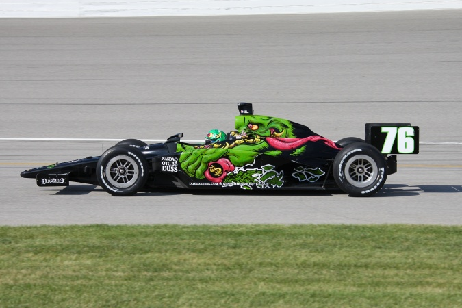 Photo: P.J. Chesson - Roth Racing - Dallara IR-05 - Honda