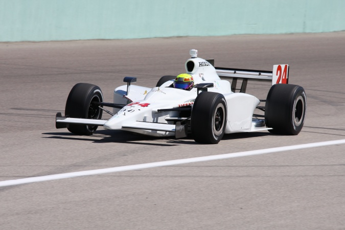 Photo: Jay Howard - Roth Racing - Dallara IR-05 - Honda