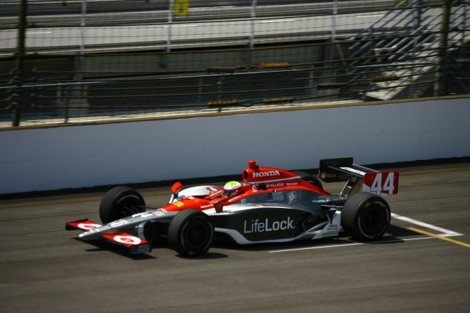 Photo: Massimilano Papis - Rubicon Race Team - Dallara IR-05 - Honda