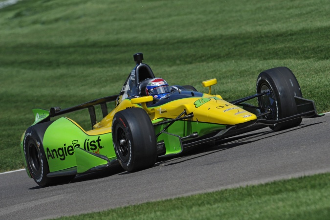 Photo: Katherine Legge - Schmidt Peterson Motorsports - Dallara DW12 - Honda