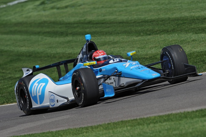 Photo: Simon Pagenaud - Schmidt Peterson Motorsports - Dallara DW12 - Honda