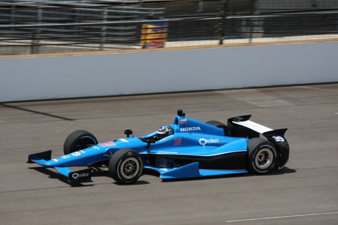 Photo: Bryan Clauson - Sarah Fisher Racing - Dallara DW12 - Honda
