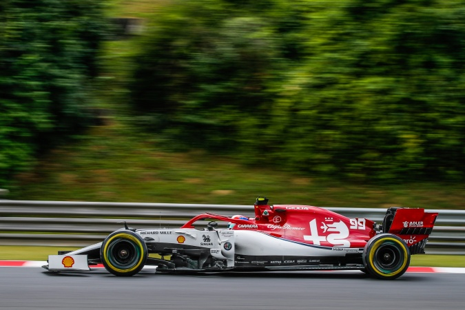 Photo: Antonio Giovinazzi - Sauber F1 Team - Alfa Romeo C38 - Ferrari