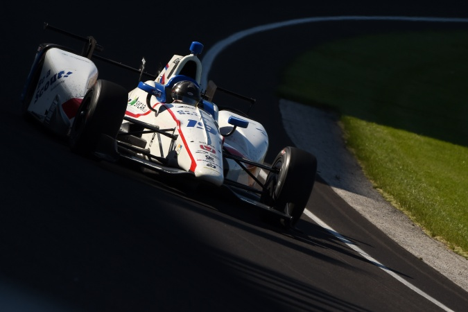 Photo: Michael Aleshin - Schmidt Peterson Motorsports - Dallara DW12 - Honda