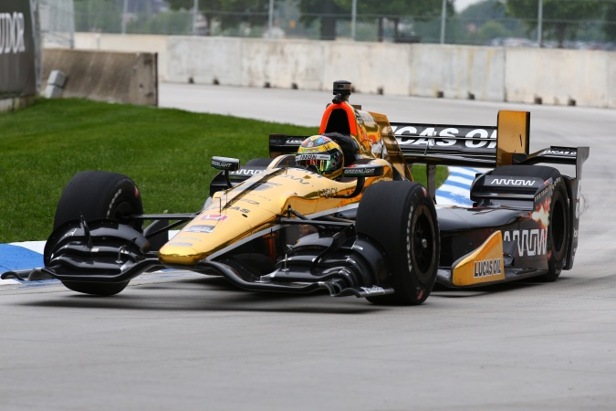 Photo: Conor Daly - Schmidt Peterson Motorsports - Dallara DW12 - Honda