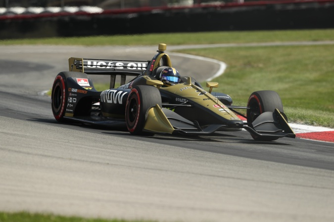 Photo: Marcus Ericsson - Schmidt Peterson Motorsports - Dallara DW12 - Honda