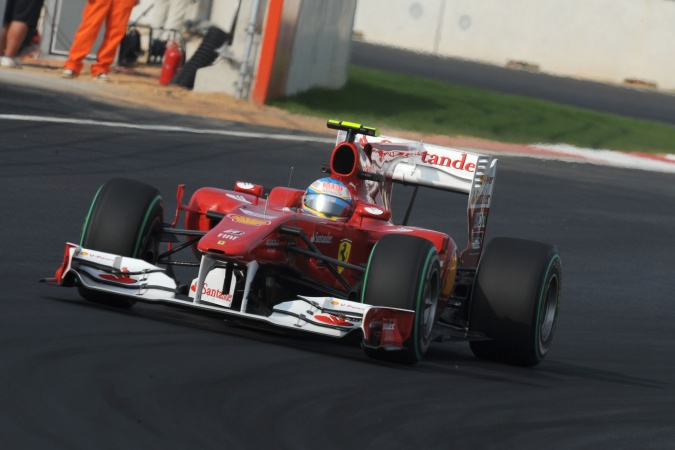 Photo: Fernando Alonso - Scuderia Ferrari - Ferrari F10
