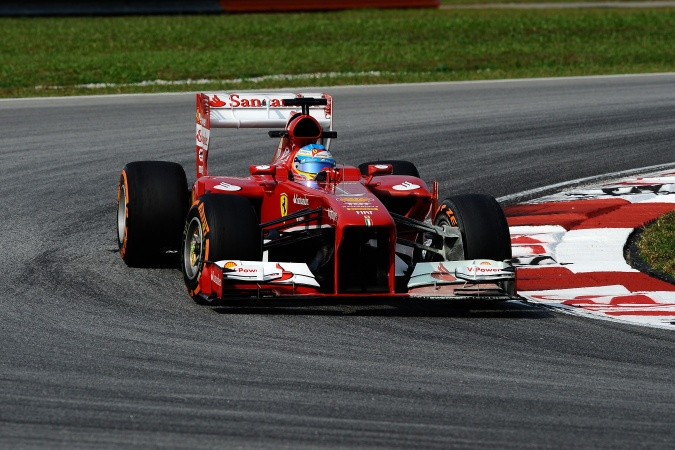 Photo: Fernando Alonso - Scuderia Ferrari - Ferrari F138