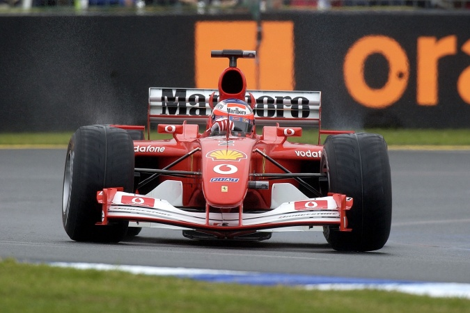 Photo: Rubens Barrichello - Scuderia Ferrari - Ferrari F2001