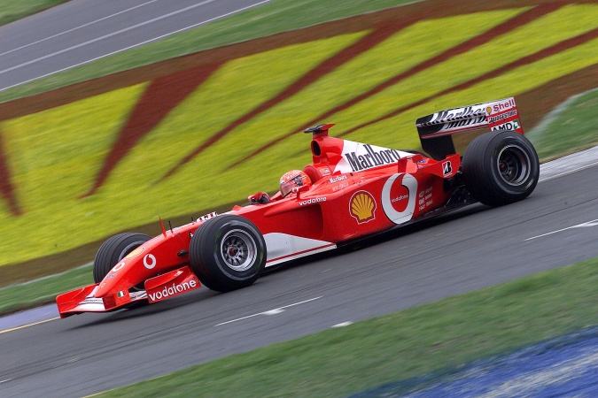 Photo: Michael Schumacher - Scuderia Ferrari - Ferrari F2001