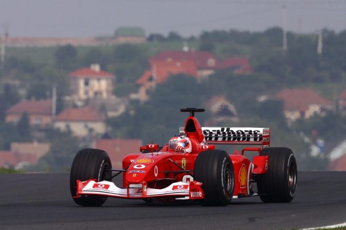 Photo: Rubens Barrichello - Scuderia Ferrari - Ferrari F2002