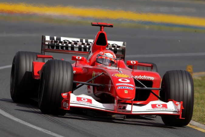 Photo: Michael Schumacher - Scuderia Ferrari - Ferrari F2002