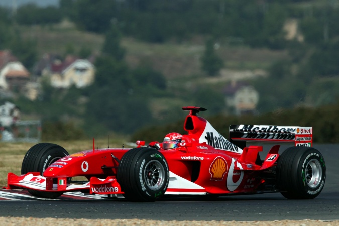 Photo: Michael Schumacher - Scuderia Ferrari - Ferrari F2003-GA