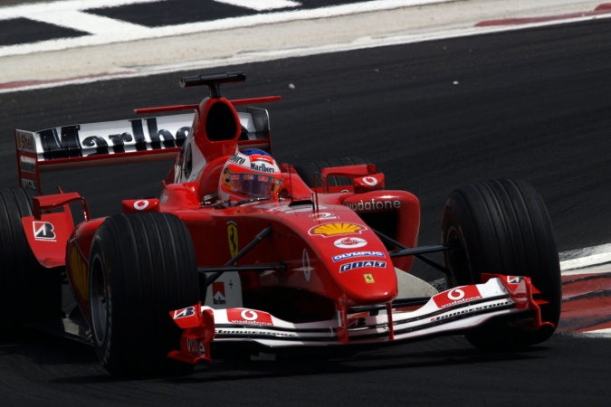 Photo: Rubens Barrichello - Scuderia Ferrari - Ferrari F2004