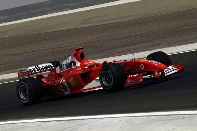 Photo: Michael Schumacher - Scuderia Ferrari - Ferrari F2004