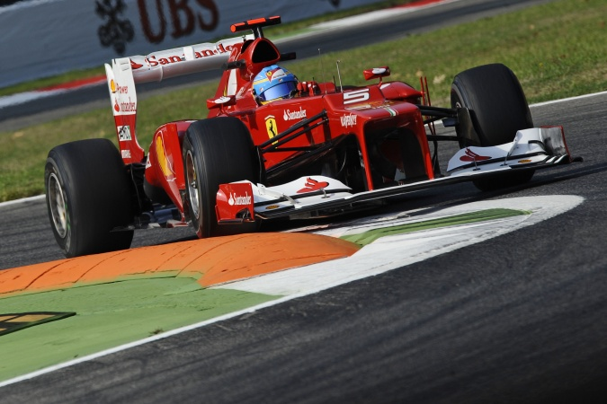 Photo: Fernando Alonso - Scuderia Ferrari - Ferrari F2012