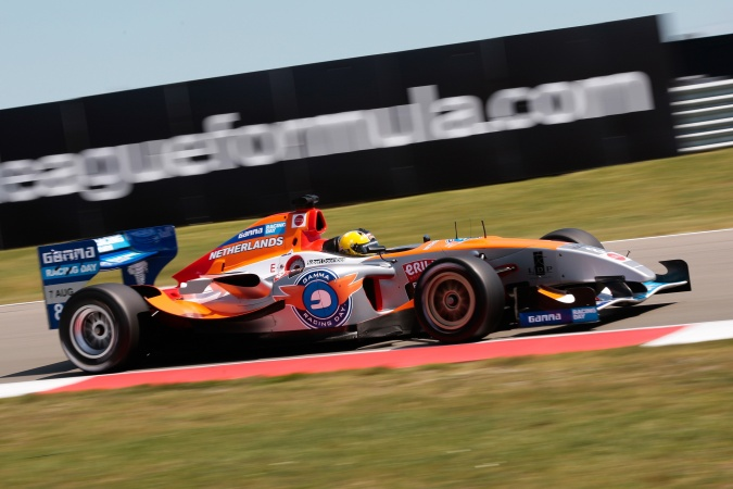 Photo: Robert Doornbos - SF Team Netherlands (AtechReid GP) - Panoz DP09B - Menard
